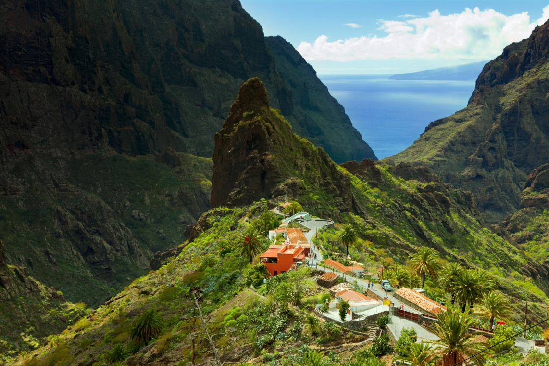 Masca Village in Tenerife, Canary Islands, Spain