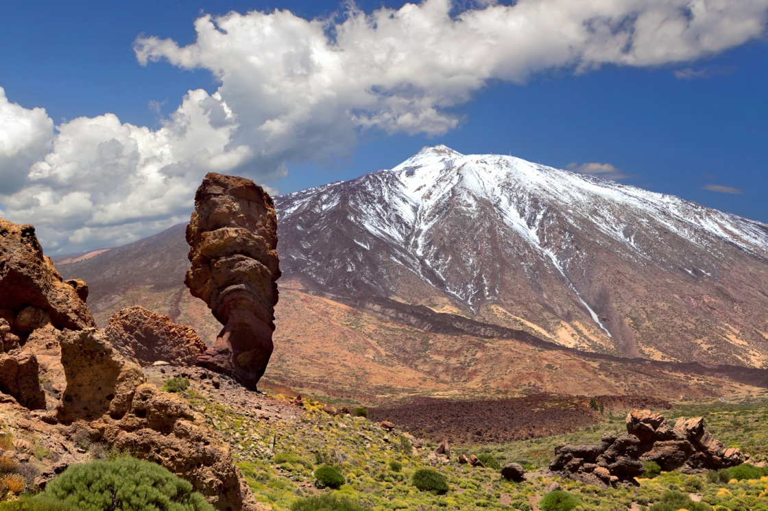 'Pico del Teide, Tenerife, Spain's highest mountain' - Tenerife